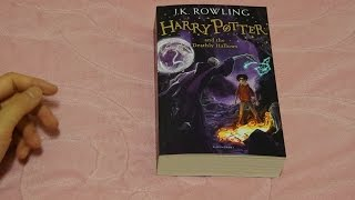 Harry Potter and the Deathly Hallows UK Paperback New Cover 2014