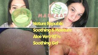 SEBAGUS ITU??!   Review Nature Republic Aloe Vera 92% Soothing Gel