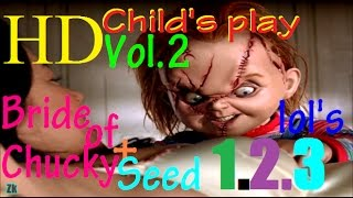 ★BEST FUNNY CLIPS FROM ALL CHUCKY MOVIES*💀[[VOL2]] 🔪2017✂💯1080pHD