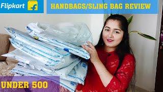 Flipkart HandBag Haul Starts Rs-255 Only Handbags Sling Bags For Office amp College Under 500