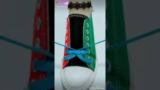 Design of tidings of shoe laces