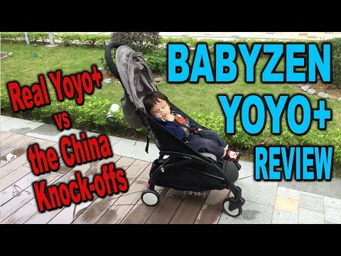 BabyZen YoYo+ Stroller Review + Fake China YoYo exposé - Clueless Dad