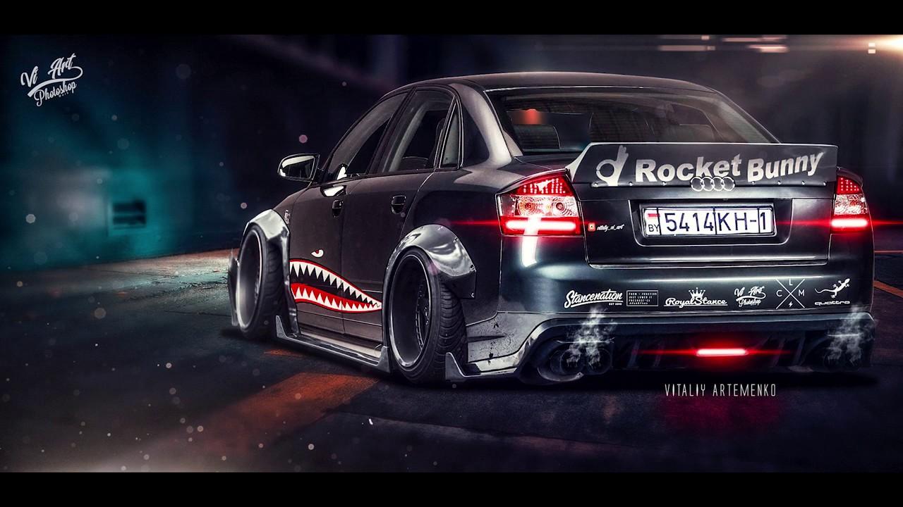 Rocket Bunny Audi A4