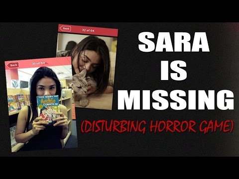 WHO LEAVES THIS IN THEIR PHONE?! | Sara is Missing (Disturbing Horror Game)
