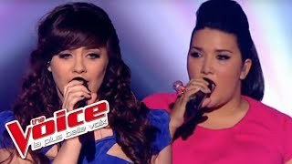 The Voice 2012 | Amalya Delepierre et Al.Hy - Heavy Cross (Gossip) | Demi-Finale