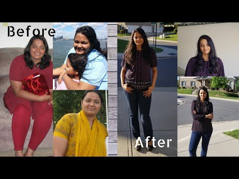 Weight loss journey | Short version | English | Before and after pictures