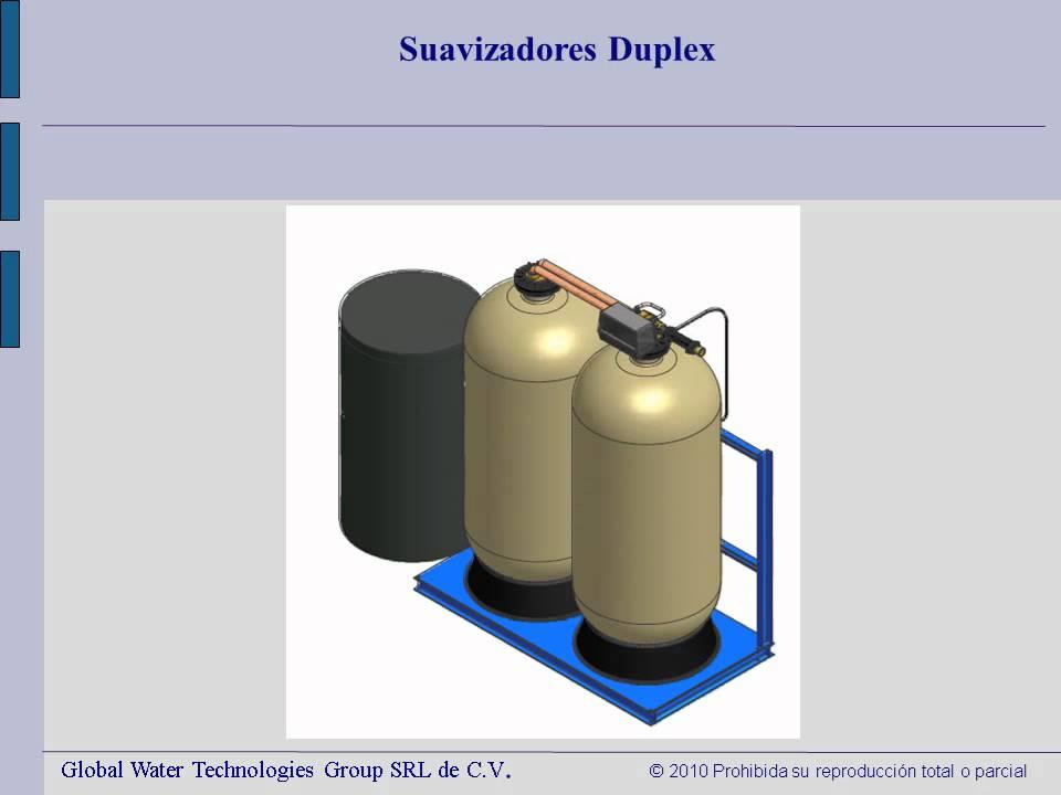 Suavizador de agua youtube for Como funciona un comedor industrial