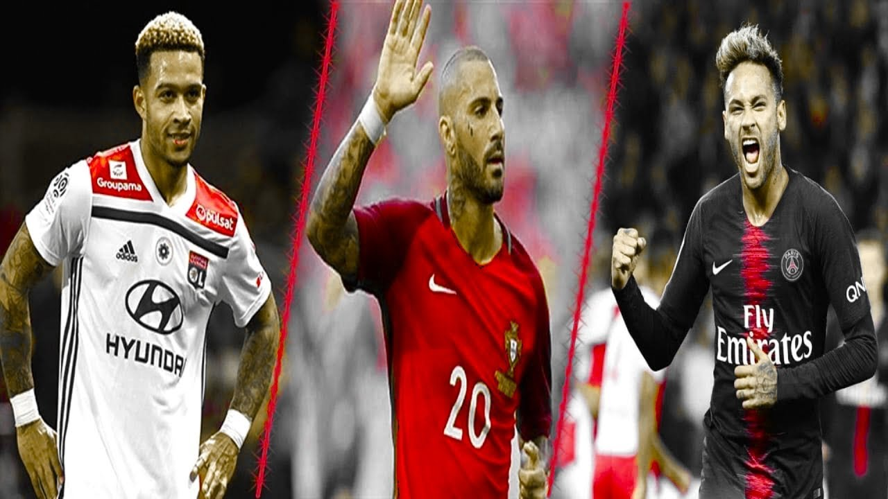 Neymar ● Quaresma ● Depay ► Who's the most skillful? HD