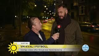 Hårt motstånd väntar Sverige i VM-kvalet - Nyhetsmorgon (TV4)