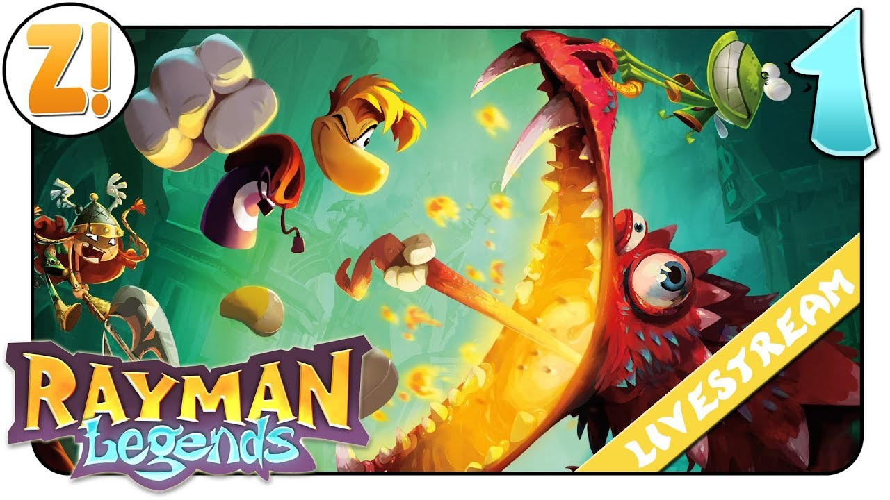 Filme Rayman in rayman legend definitve edition: endlich auf der switch! #01