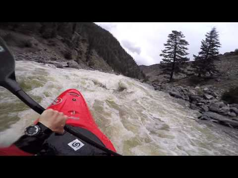 GoPro kayaking: Gore Canyon of the Colorado River