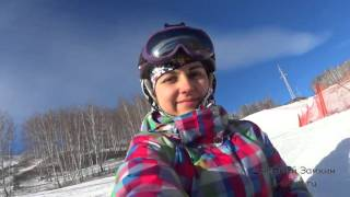 видео Башкирия горнолыжный курорт «Абзаково»