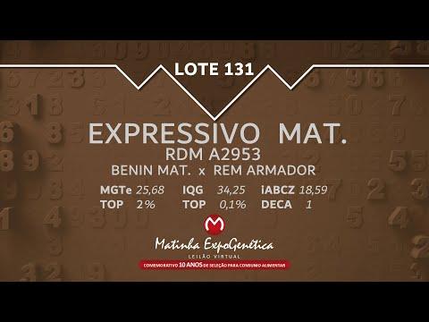 LOTE 131 MATINHA EXPOGENÉTICA 2021