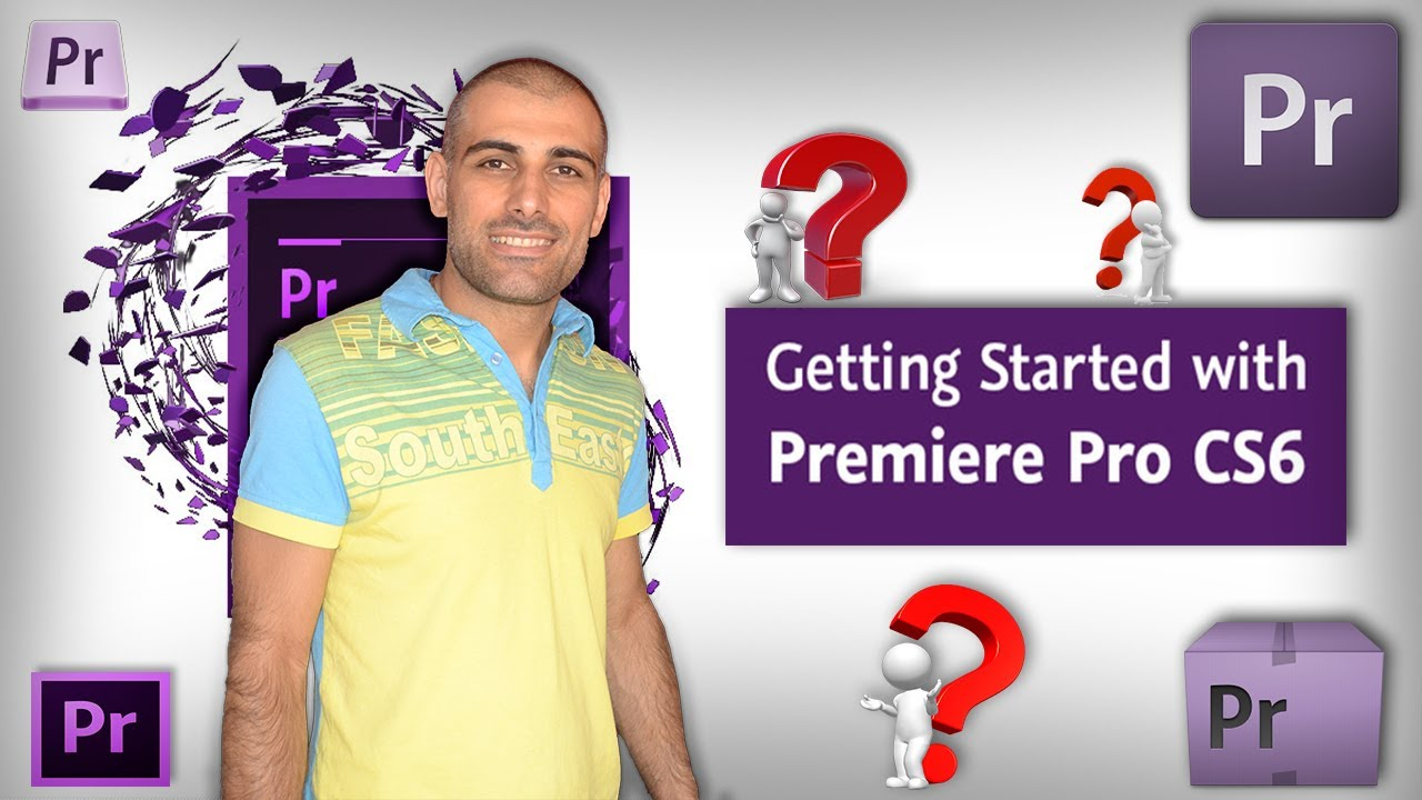 how to use adobe premiere pro cs6 for beginners