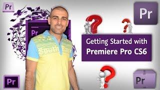 Adobe Premiere Pro CS6 курс для начинающих, как монтировать в Adobe Premiere Pro CS6 for beginners