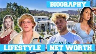 Logan Paul Vs Jake Paul Lifestyle Net Worth Money