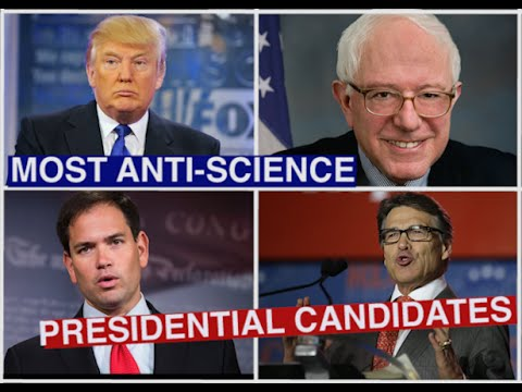 Most Anti Science Presidential Candidates 2016