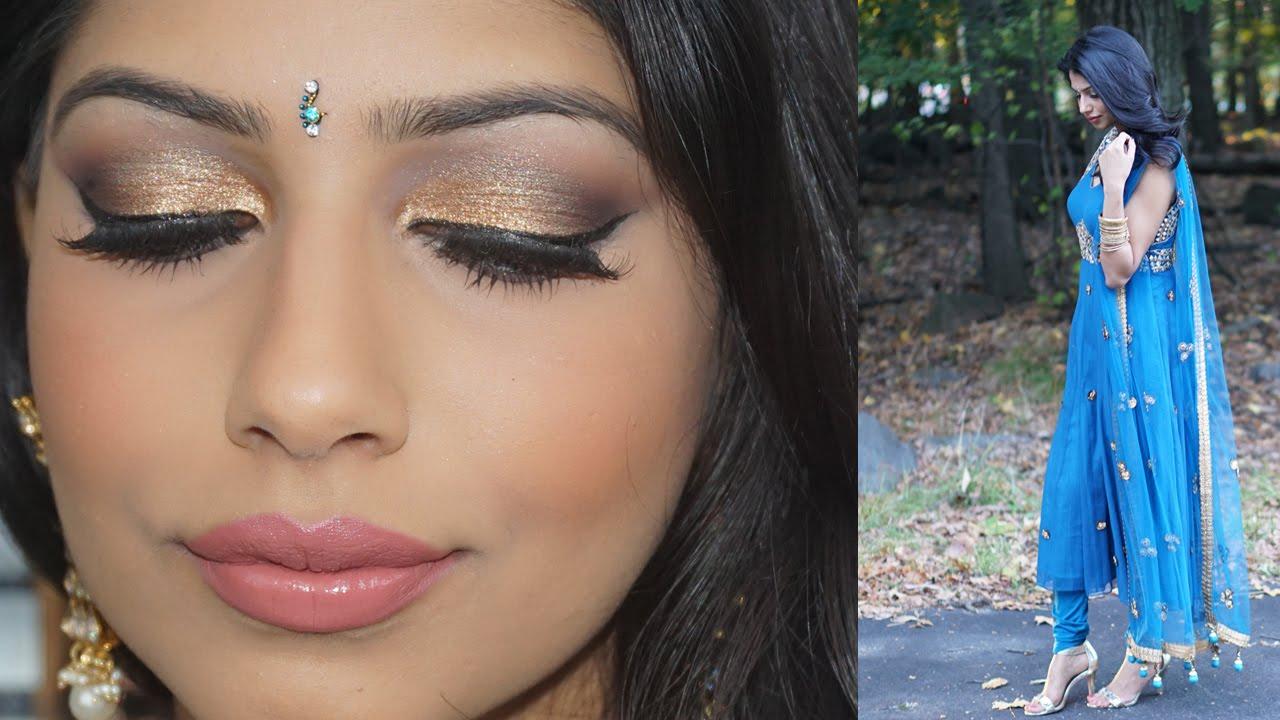 Mehndi Makeup Step By Step : Easy and long lasting mehndi makeup tutorial youtube