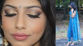 Mehndi Makeup In : Mehndi makeup tutorial amena vloggest