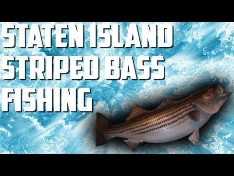 Staten Island Striped Bass Fishing | IRONGIANTFISHING