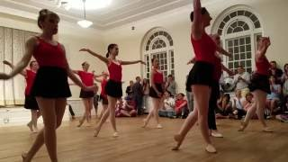 Ballet performance by Philly Dance Fitness students at Philadelphia Dance Day 2016