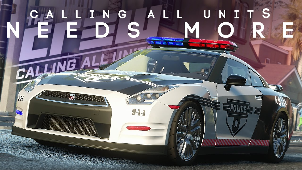 CALLING ALL UNITS NEEDS MORE | NISSAN GTR R35 POLICE CAR -The Crew ...