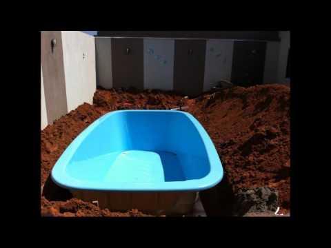 Instalando Piscina De Fibra Splash Modelo Italiana Youtube