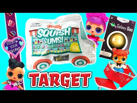 lol-surprise-dolls-go-shopping-at-target!-featuring-cub3d,-galaxy-goo-&-squish-'ums