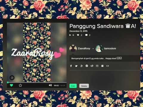 Panggung Sandiwara - Nicky Astria (cover)