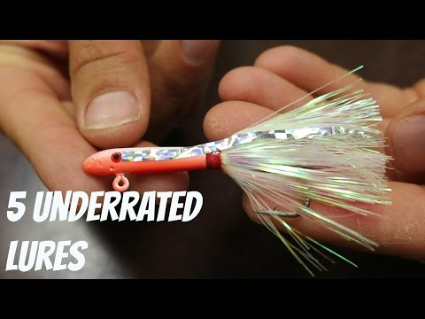 My Top 5 Most Underrated Inshore Fishing Lures