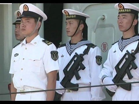 Chinese Navy Visit Pearl Harbor