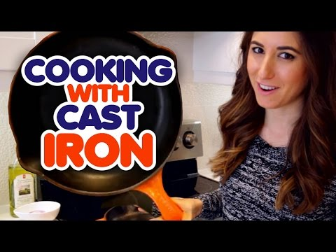 Cooking with Cast Iron! (Melissa Maker)