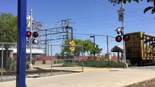 Union Pacific Folsom Turn Local, Power Inn Pedestrian Crossing