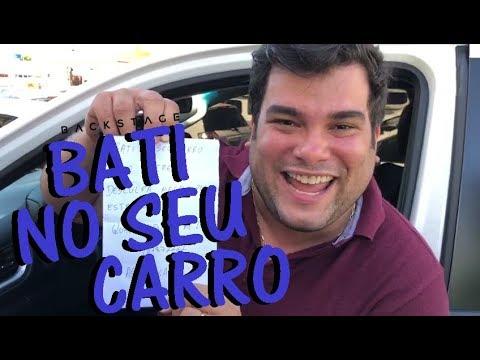 BATI NO SEU CARRO (PEGADINHA)