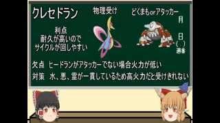【ポケモンORAS】にわかによるパーティ構築論 (相性補完)【ゆっくり解説】