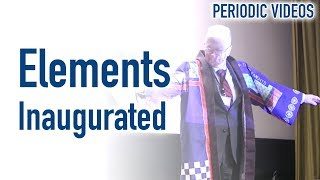 Elements Inauguration - Periodic Table of Videos