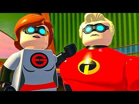 LEGO THE INCREDIBLES 2 All Cutscenes Full Movie - Как поздравить с Днем Рождения