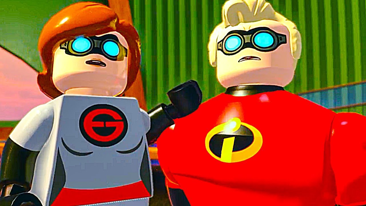 LEGO THE INCREDIBLES 2 All Cutscenes Full Movie