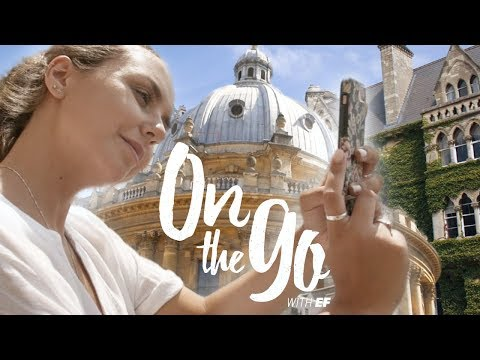 Angelina tours the colleges of Oxford – On the go with EF #84