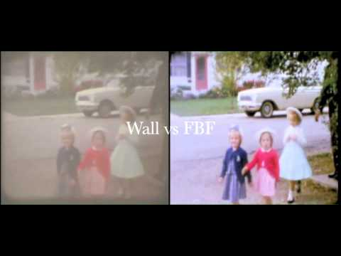 8mm Frame by Frame Film Transfer vs off the Wall - YouTube