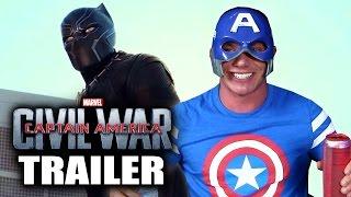 CAPTAIN AMERICA: CIVIL WAR Trailer - Reaction Review