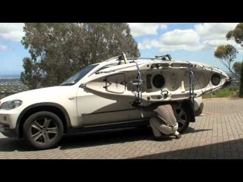 Loading A Hobie Outback Using A Thule Hullavator Youtube