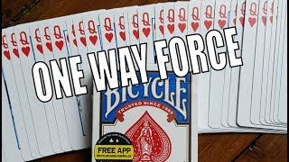 Magic Review - Bicycle One Way Forcing Deck - Penguin Magic