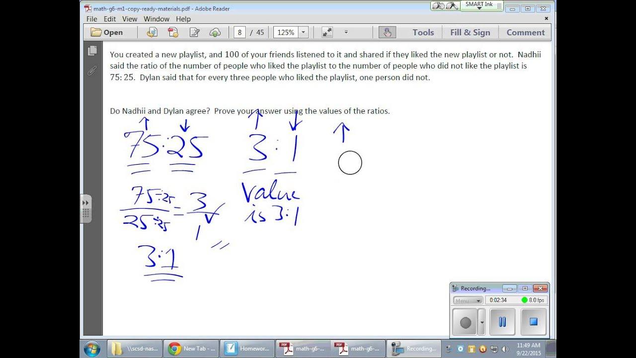 Grade 6 Module 1 Lesson 8