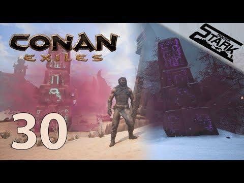 Conan Exiles - 30.Rész (Ház bemutató & Obelisk túra) - Stark