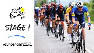 2021 Tour de France - Stage 1 Highlights   Cycling