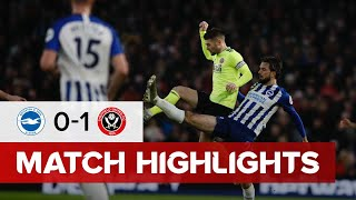 Brighton and Hove Albion 0-1 Sheffield United | Premier League highlights