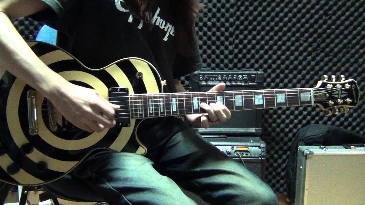 進擊の巨人 自由の翼 op2 guitar instrumental version cover by Eric Lo (tab譜あり) - YouTube