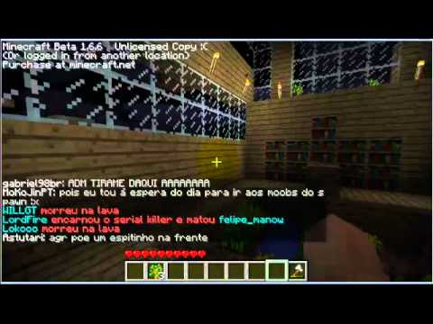 Minecraft - Multiplayer (Craftlandia) - Parte 1