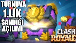 Turnuva 1.lik Sandığından Ne Çıkıyor ? Clash Royale